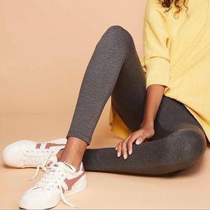 Lou & Grey | Charcoal Ponte Leggings | Size XS